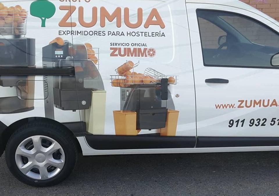 El Grupo ZUMUA apuesta por el medio ambiente con la adquisicion de su tercera furgoneta de GLP