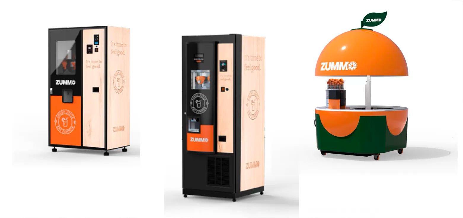 Exprimidores Profesionales vending kiosko