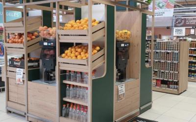 Cómo acertar eligiendo máquinas exprimidoras de zumo para supermercado