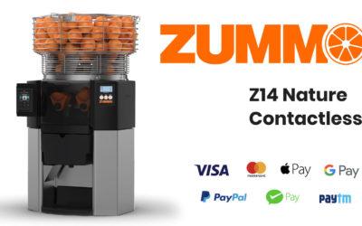 Z14 Nature Contactless: el exprimidor con sistema de pago incorporado que facilita el pago sin contacto