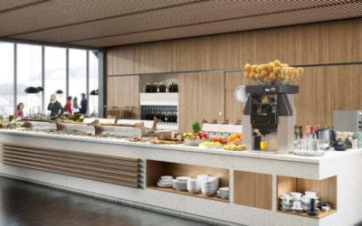 Aumenta los ingresos de tu hotel ofreciendo desayuno-buffet con zumos naturales recién exprimidos.